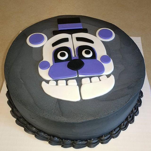 5/4/17 - Five Nights at Freddy's, Fun Time Freddy cake.  #fnaf #fivenightsatfreddys #cake #cakestagram #utah #utahcake #slc #slccakes #funtimefreddy