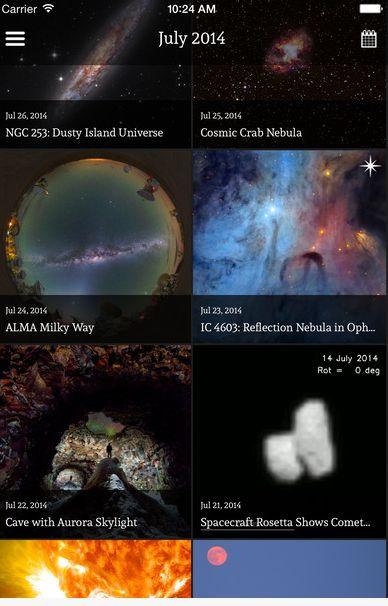 Ver imágenes de Hubble en el móvil  - https://www.vexsoluciones.com/noticias/ver-imagenes-de-hubble-en-el-movil/