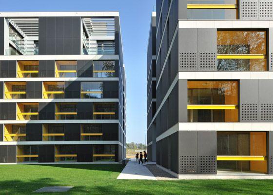 Bevk Perović arhitekti / office and housing complex pilon, ljubljana