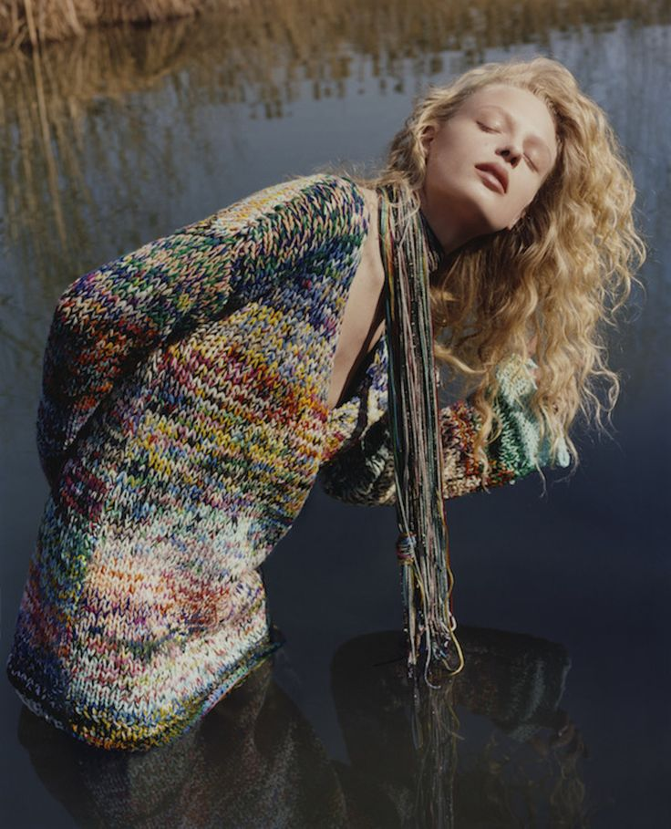 """crfashionbook: """" Missoni's Fall campaign is a dream of colors and textures """""""