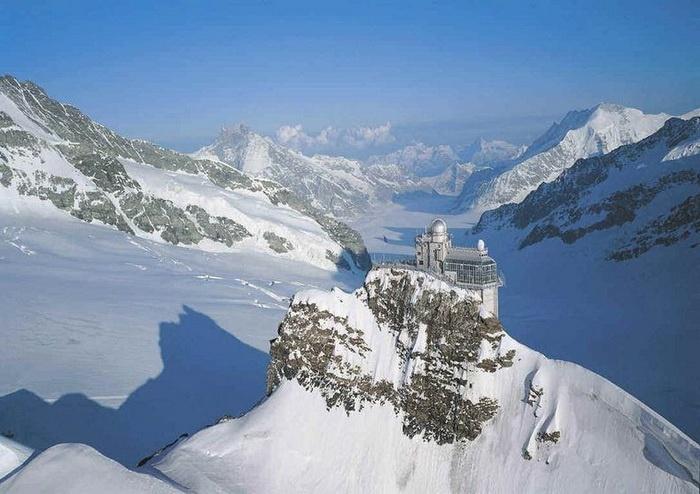 Sphinx Observatory, Swiss Alps