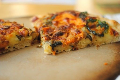 Sweet Potato Spinach Pizza | Cooking | Pinterest | Spinach, Pizza and ...