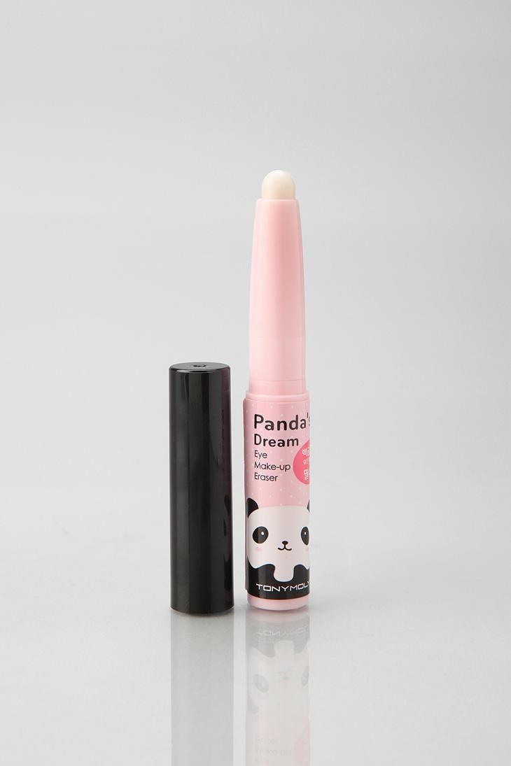 Panda's Dream eye make up eraser from Tony Moly -- super cute and really convenient, and no more panda eyes!