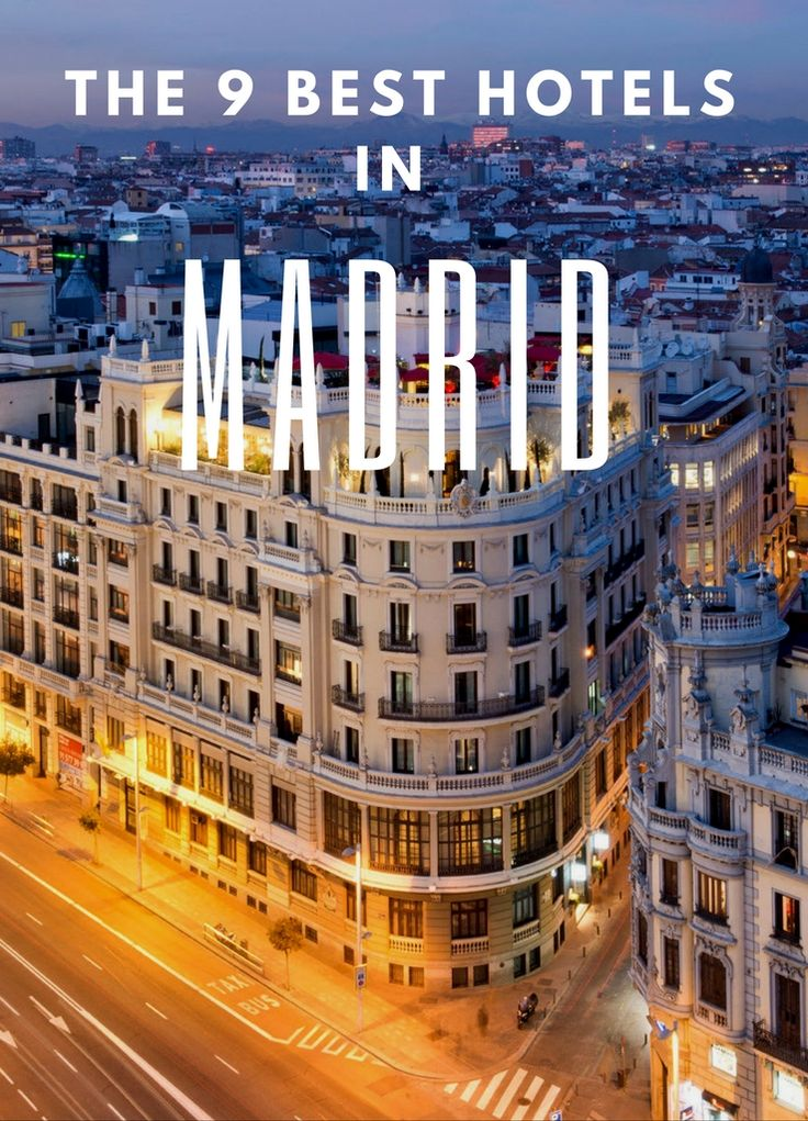 From iconic landmark properties to modern boutiques. #Madrid #Spain