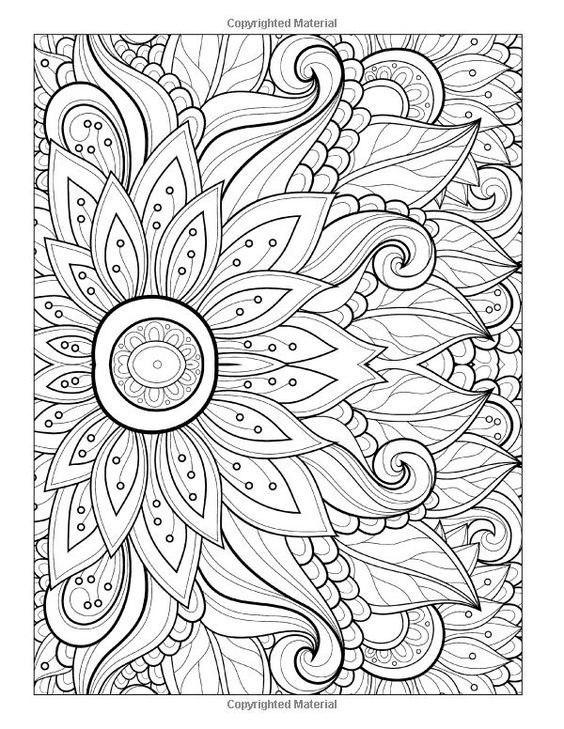 cool coloring pages adults flowers and also to print this free coloring page coloring adult flower with many