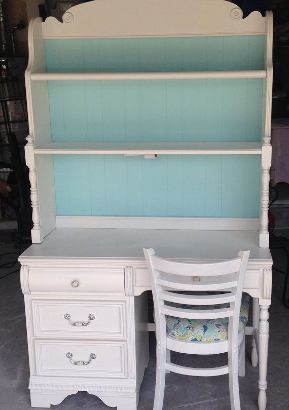 Student Desk with Hutch (Sold, But Custom Listing - Sample)
