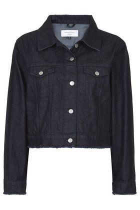 **Boxy Denim Jacket by Marques'Almeida X Topshop