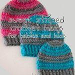 free crochet hat pattern free crochet hats for kids free baby crochet hat pattern striped crochet hat pattern