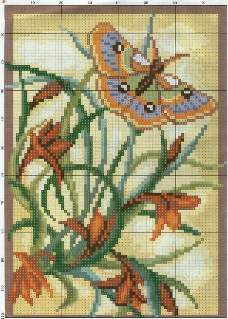 Схемы вышивки art stitch