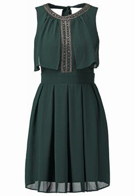 Zomerjurken TFNC BIVALY - Korte jurk - jade green Donkergroen: € 59,95 Bij Zalando (op 27-11-15). Gratis bezorging & retournering, snelle levering en veilig betalen!