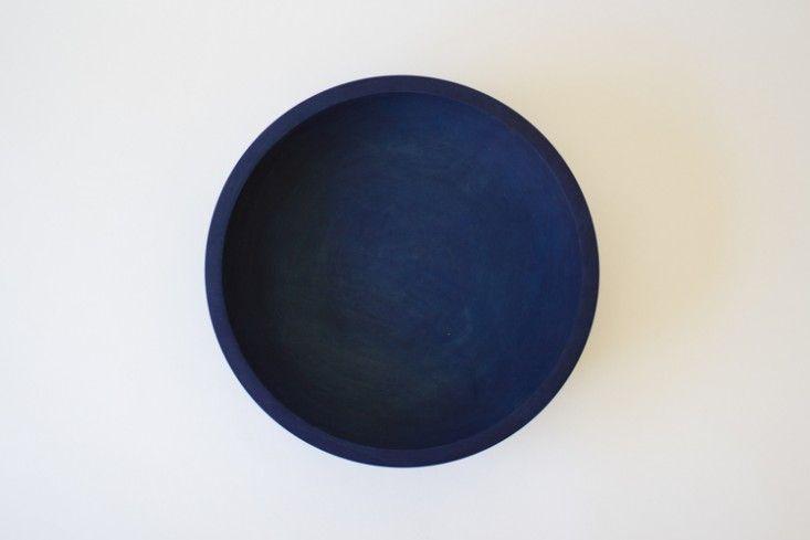Silvia Song indigo maple bowl   Remodelista