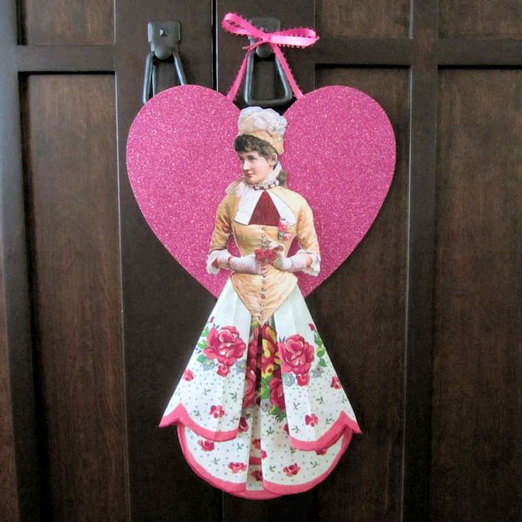 Valentine Hankie Doll on Vintage Image Craft - with directions and pdf.