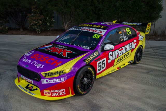 Prodrive is the first team to unveil retro colours