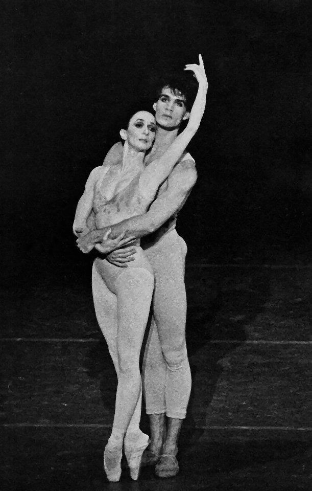 Paul Chalmer answers the Gramilano Questionnaire… Dancers' Edition - Paul Chalmer with Marcia Haydée in Initials RBME – Stuttgart Ballet