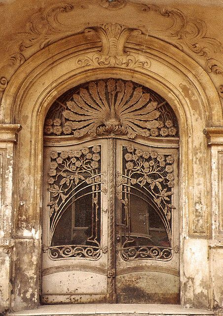 *BEAUTIFUL PORTAL's ~ art noveau door, Schöneberg, Berlin by laksevaagen, via Flickr