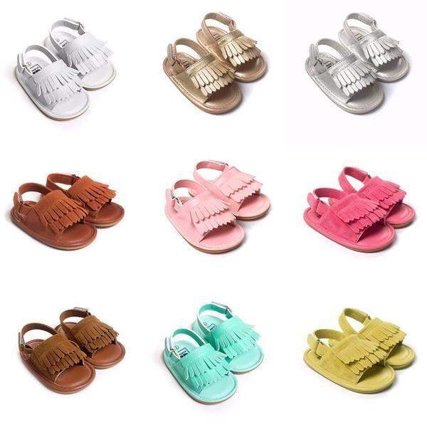 Beautiful Baby Fringe Sandals