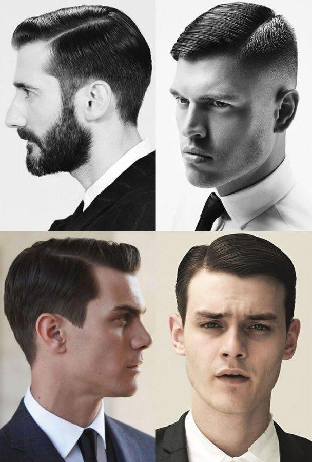 Klassische Herren Frisuren Fur Dicke Haare Frisuren Herrenfrisuren Herrenhaarschnitt Klassische Frisuren