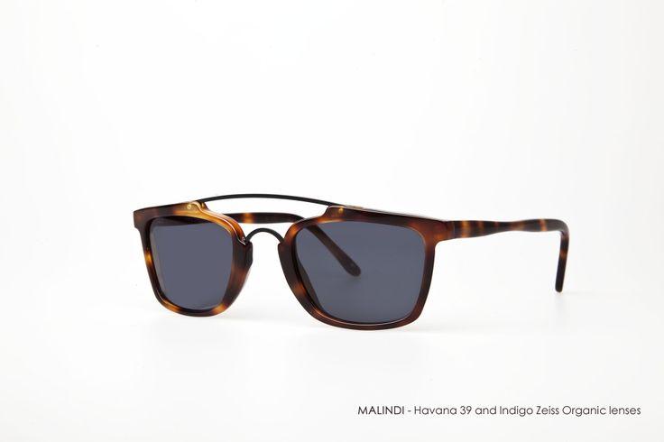 MALINDI - Havana 39 with Indigo Zeiss Organic lenses