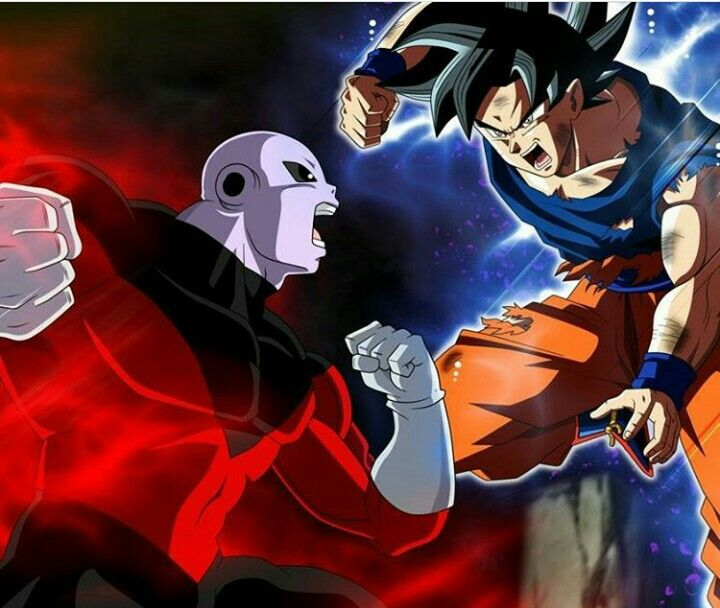 Goku Inst.Superior vs Jiren.
