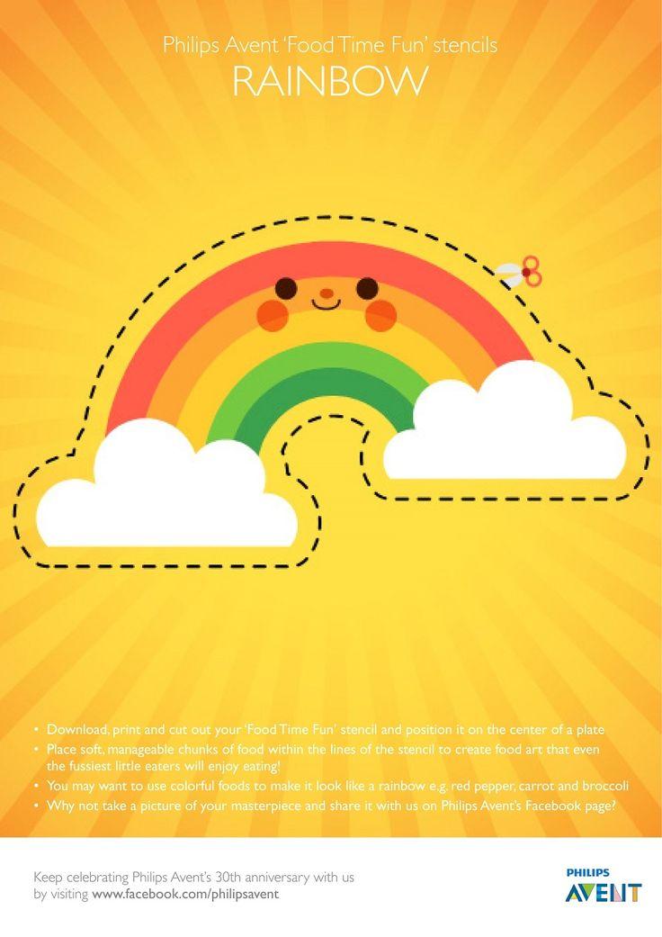 Tipps und Tricks für wählerische Esser | Philips AVENT Storchennest | Super cute foodstencils| Babys| Ernährung| toddlers