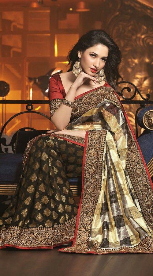 Tamanna In Tadakha Halfsaree: 17 Best Images About South Actress Tamannaah Sarees