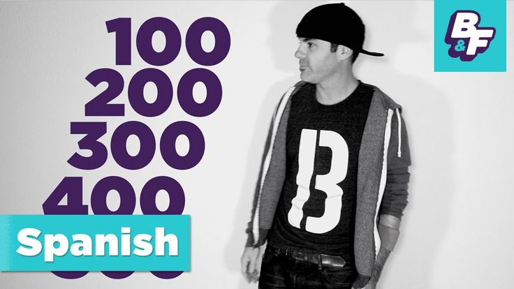 Learn to count to 1000 in Spanish with BASHO & FRIENDS -
