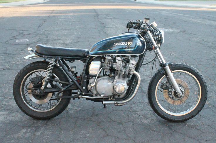 11 best Suzuki brat tracker build images on Pinterest | Biker gloves ...
