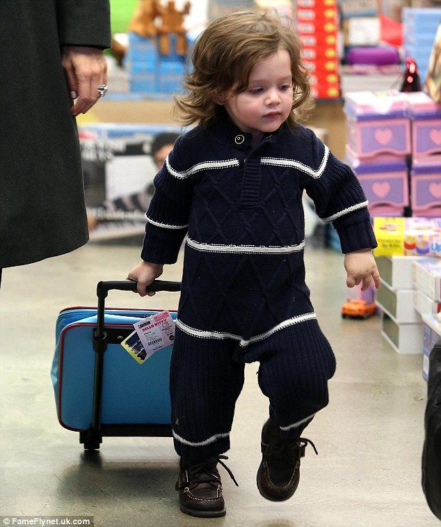 Rachel Zoe's almost 2-year-old son Skyler Berman
