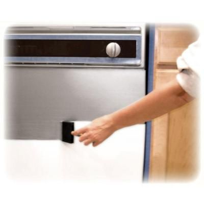 how to clean brushed stainless steel fridge