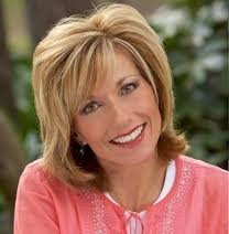 Beth Moore - I'm honored to call this godly woman my sister-in-Christ!  I love her Bible studies and get a kick out of her humor too!