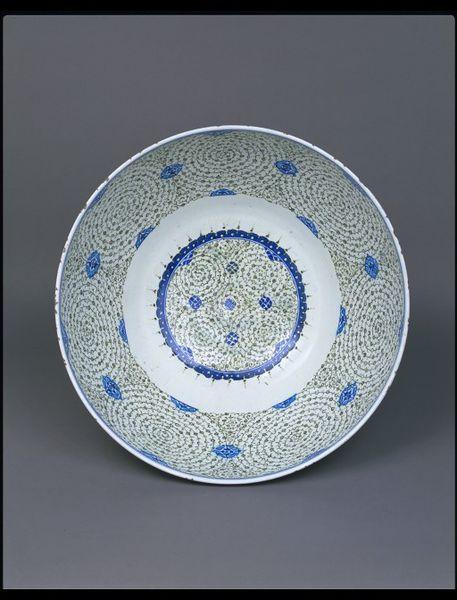 Bowl Place of origin: Turkey (made) Iznik, Turkey (probably, made) Date: ca. 1545 (made) Artist/Maker: ...