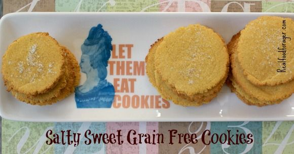 Recipe: Salty Sweet Grain Free Cookies (SCD, GAPS, Paleo) post image