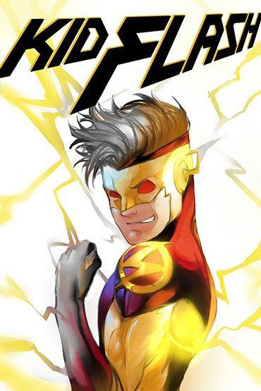 DC Fan Arts Kid Flash