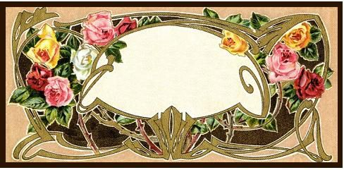 Frame of Roses by Home and Heart, via Flickr