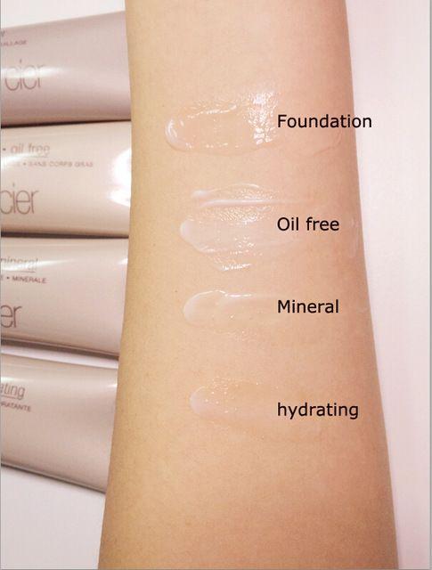 4 Estilos de Maquiagem Rosto Fundação Cartilha Camada de Base Oil-free/Mineral/Hidratante Hidratante 50 ml Impecável Maquillage