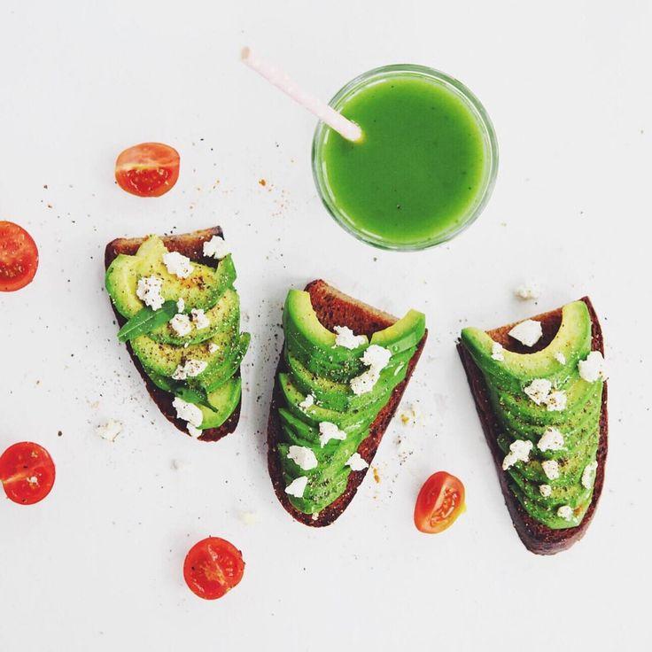 салатшоп тост с авокадо