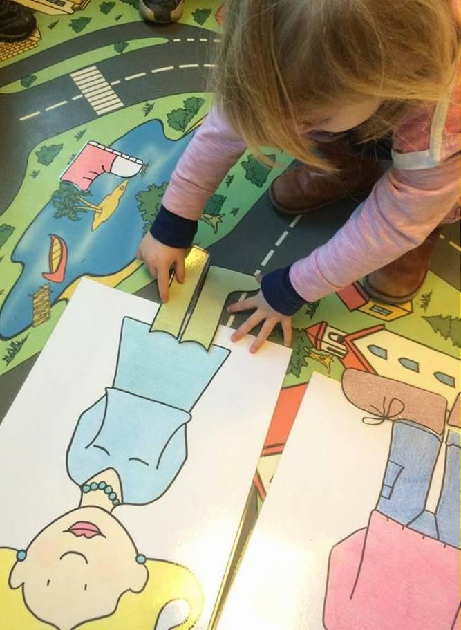 Bij wie hoort welke schoen? (mama, papa, Jules of Marie?)  Blog | Juf Athina