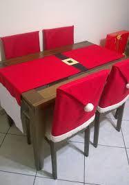 Resultado de imagen para toalhas de mesa de natal em feltro