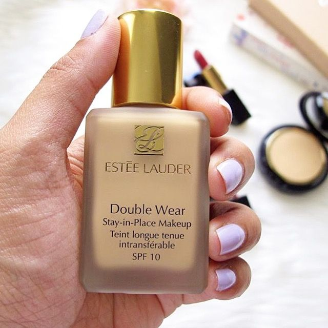 My favourite foundation Estée Lauder double wear. Full coverage and lasts all day x