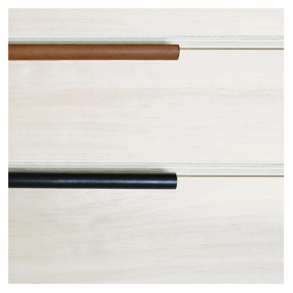 Leather Pull Recessed | Saddle Tan Made Measure Melbourne
