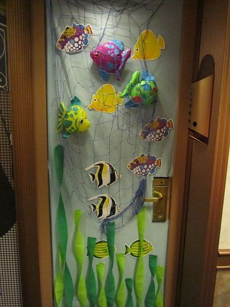 62 Best Cruise Ship Door Decorating Images On Pinterest