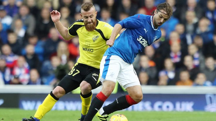 Niko Kranjcar: Rangers struggling to shake off Europa League shock #News #composite #Football #LadbrokesPremiership #NikoKranjcar