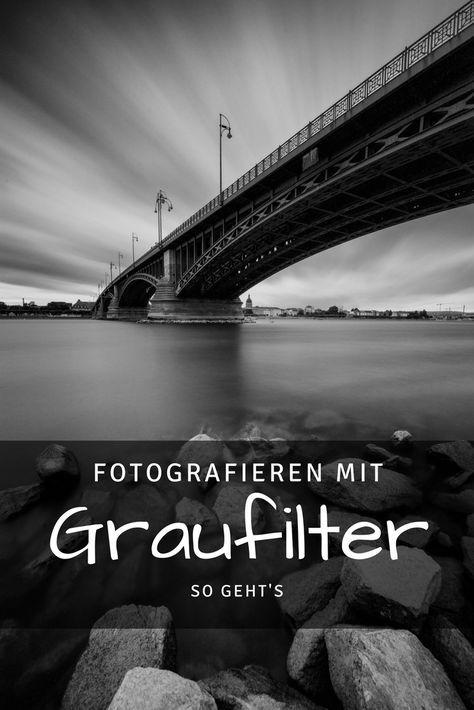 Fotografieren mit Graufilter – so geht's
