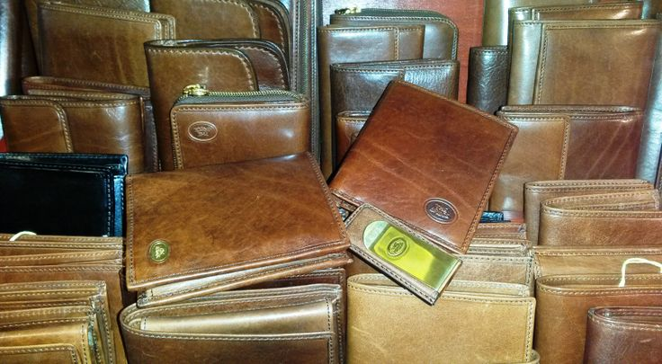 Wallets, card holders and money clips all make ideal Father's Day gifts. Our range from The Bridge is made from the highest quality Italian leather, which gains a unique patina with use. These wallets will just look better and better the longer you own them!
