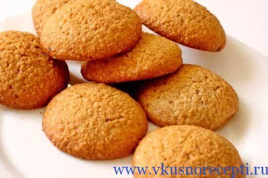 рецепт домашнего овсяного печенья с фото