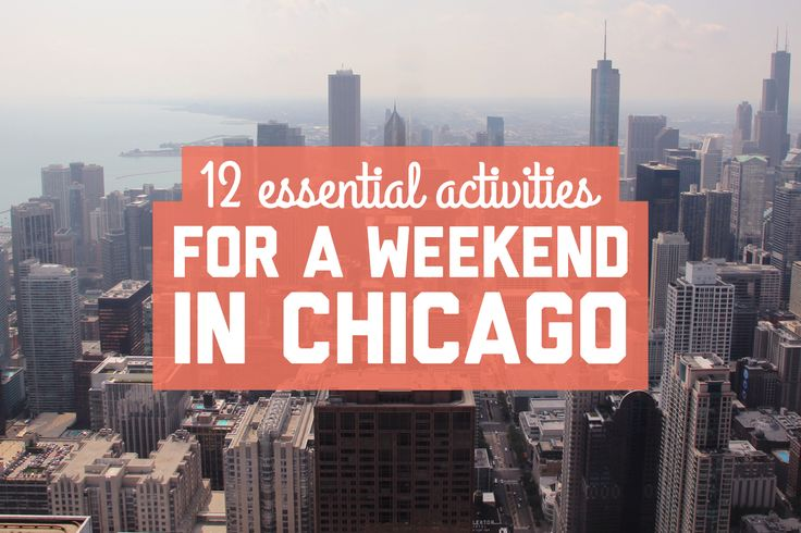 Some local suggestions mixed in with a little sightseeing gave us an awesome Chicago experience! Here are my recommendations for a weekend in Chicago.