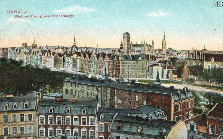 Widok na Gdańsk z Biskupiej Górki