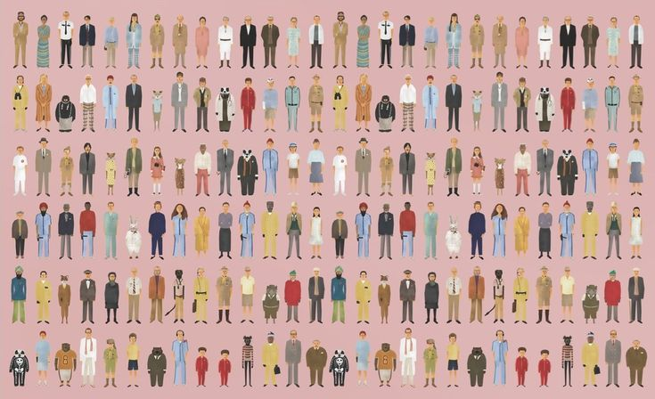 wes anderson wallpaper | Wes Anderson Characters