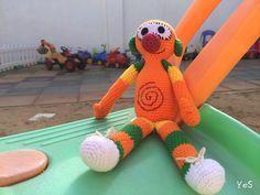 Amigurumi Que Es : Mi mundo de baldosas amarillas lápiz estuche de crochet con
