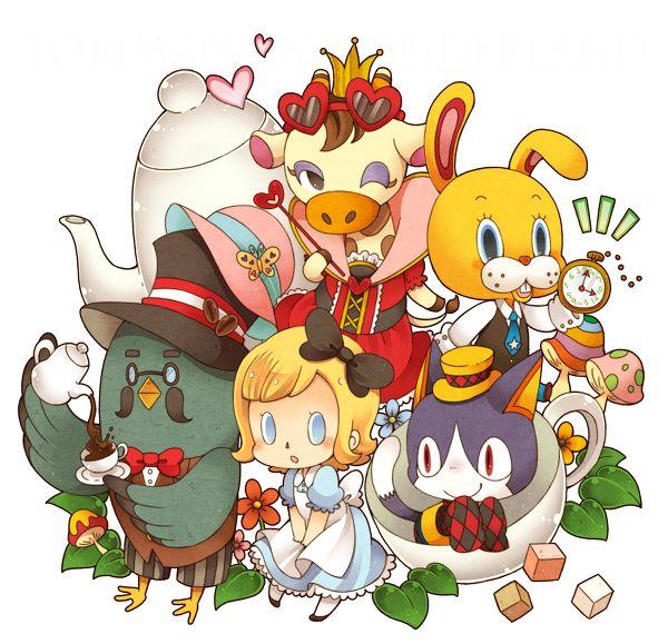 Animal Crossing in Wonderland